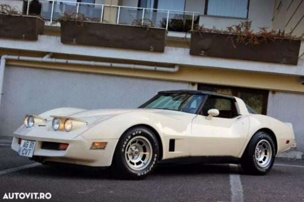 Chevrolet Corvette, 1981, 100% originala