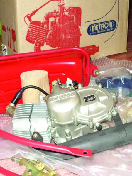 "Kit Motor Bicicleta Metrom M35 Model EXPORT ""RED TANK"""