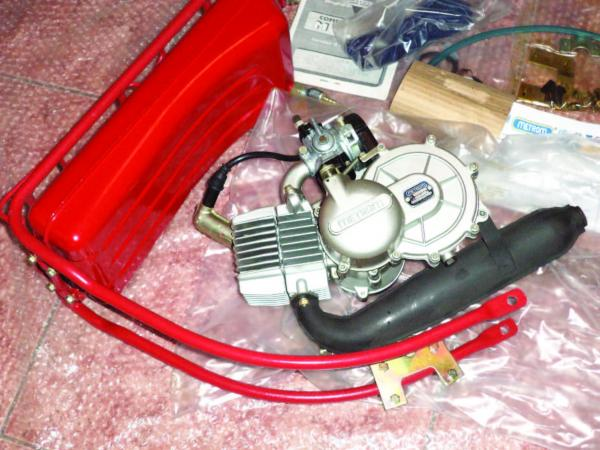 "Kit Motor Bicicleta Metrom M35 Model EXPORT ""RED TANK""2"